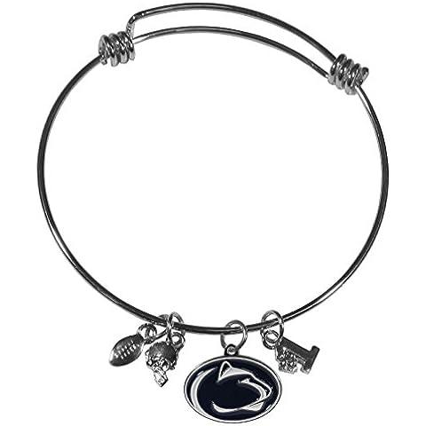 NCAA Penn State Nittany Lions Charm Bangle Bracelet by Siskiyou