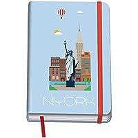 Dohe Vesta City - Cuaderno con diseño New York, A6
