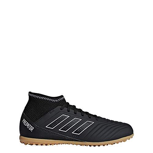 adidas Unisex-Kinder Predator Tango 18.3 TF Fußballschuhe, schwarz, 38 2/3 EU