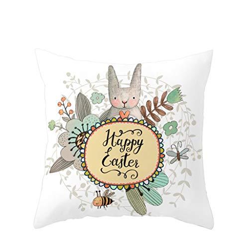 Sonnena Geometrischen Kaninchen Druck Kissenbezüge Spannbettlaken Hause Sofakissenbezug Günstige Kissen Moderne Kissenhüllen Polsterung Weich Baumwolle 45x45cm -