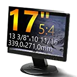 Xianan 17 Zoll 5:4 Standardbildschirm Displayfilter Bildschirmfilter 13,35x10,67zoll/339x271mm Displayschutz Blickschutzfolie Sichtschutzfolie Privacy Filter