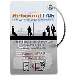 ReboundTAG Smart Luggage Tracker: RFID, NFC, QR Code: Comprend le contact du service clientèle pour vous aider à trouver vos bagages perdus