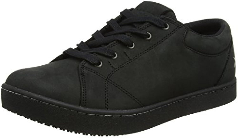 Zapatos para Crews m31174 – 41/7 Mozo Mavi de las mujeres antideslizante zapatillas, 7 UK, color negro
