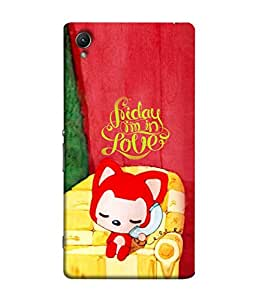 PrintVisa Designer Back Case Cover for Sony Xperia Z5 :: Sony Xperia Z5 Dual 23MP (Decoration Interior Design Illustration Fun Chair Modern Art)
