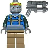 LEGO Star Wars Figur Turk Falso (Weequay Pirat) aus dem Bausatz 7753 mit doppelläufigem Blaster