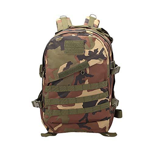 k, CHshe❤❤, Heiße militärische Tasche des Tages, Molle Outdoor-Sportrucksack 3D zum Auswandern (E) ()