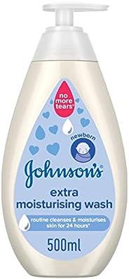 JOHNSON'S Baby Body Wash, Extra Moisturising, 500ml