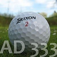 50 SRIXON AD333 BALLES DE GOLF RÉCUPÉRATION / LAKE BALLS - QUALITÉ AAA / AA (A / B GRADE) - DANS SAC EN FILET