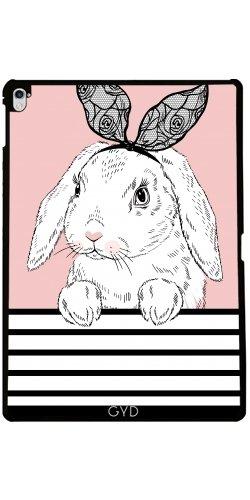 Hülle für Apple Ipad Pro (9.7 Zoll) - Nette Art Und Hase by Olga Angelloz (Billig Bunny Ohren)