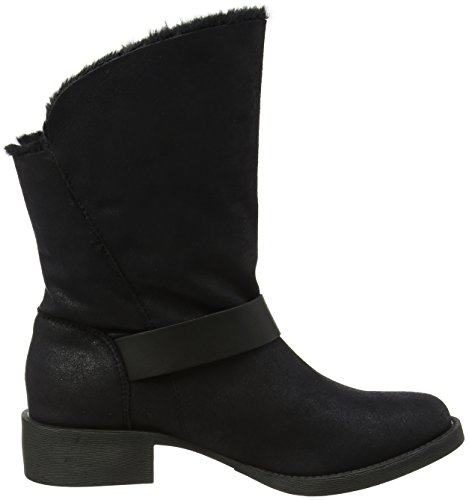 Lining Blk Black katti Lam Shr Mf Femme Bottines Drapped Blowfish XFzq6q