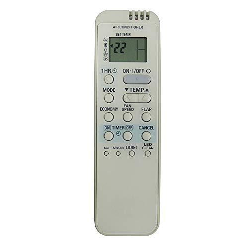 Calvas - Telecomando di ricambio per condizionatore d'aria RCS-7HS4E-G RCS7HS4EG per SANYO RCS-5S1E RCS-5S2E RCS-7S2E RCS-7S2E-G Fernbedienung