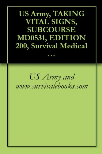 L SIGNS, SUBCOURSE MD0531, EDITION 200, Survival Medical Manual (English Edition) (Fallout Shelter Sign)