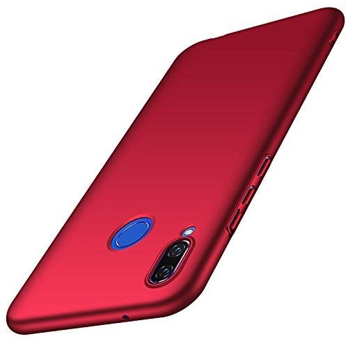anccer Huawei Nova 3 Hülle, [Serie Matte] Elastische Schockabsorption & Ultra Thin Design für Huawei Nova 3 (Glattes Rot)