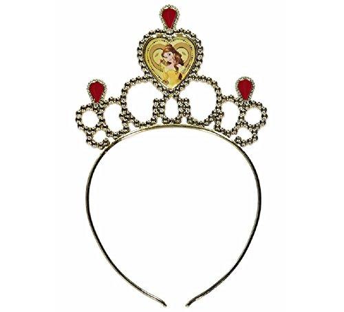 Imagen de nuevo vestido de la princesa bella marca george de disney de la bella y la bestia, disfraz para niñas [5–6] alternativa