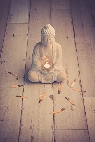 Buddha mit Teelicht Deko Figur 40cm groß betende - 4
