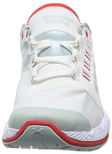 Under Armour Ua W Charged Core, Chaussures Multisport Outdoor Femme Blanc (White 101)