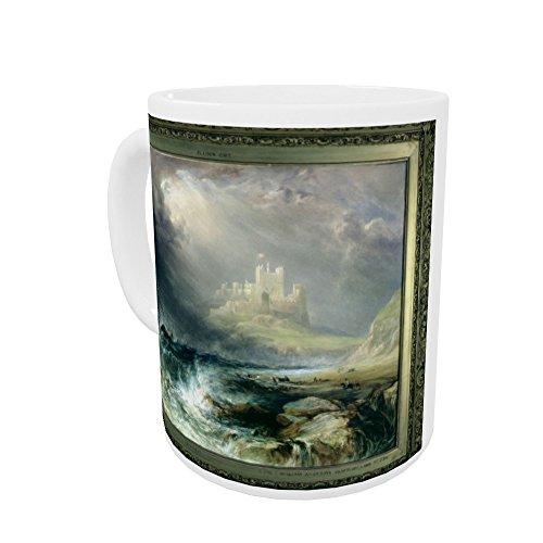 Bamburgh Castle, Northumberland by William.. - Henkelbecher - Standardgröße - White Mug -