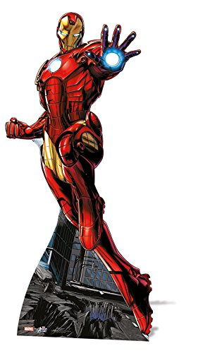 falksson Life-Size Stand-up (Lebensgroßer Pappaufsteller) Marvel Avengers Iron Man (Pappe Lifesize Standups)
