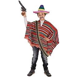 LLOPIS - Disfraz Infantil Mexicano t-3