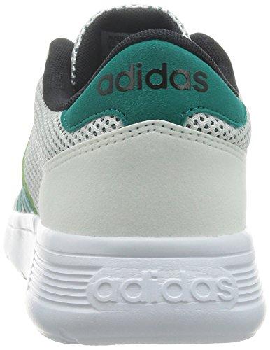 adidas Neo Lite Racer F99416 Herren Schuhe Weiß Weiß (Weiß-Grün)