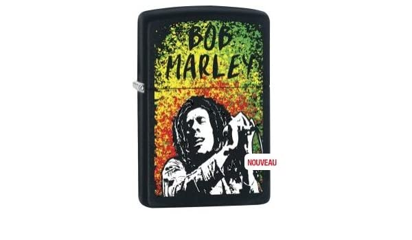 Zippo Feuerzeug Bob Marley Black