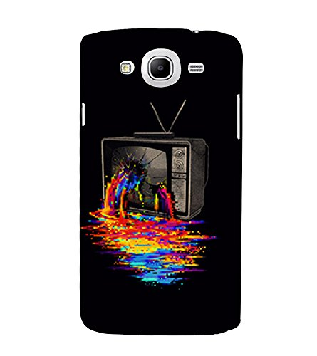Broken Television 3D Hard Polycarbonate Designer Back Case Cover for Samsung Galaxy Mega 5.8 I9150 :: Samsung Galaxy Mega Duos I9152  available at amazon for Rs.389