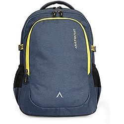 Aristocrat 34 Ltrs Blue Laptop Backpack (LPBPGRI1BLU)