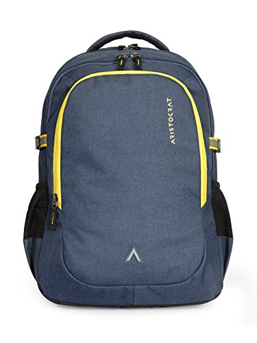 Aristocrat 34 Ltrs Blue Laptop Backpack (LPBPGRI1BLU)