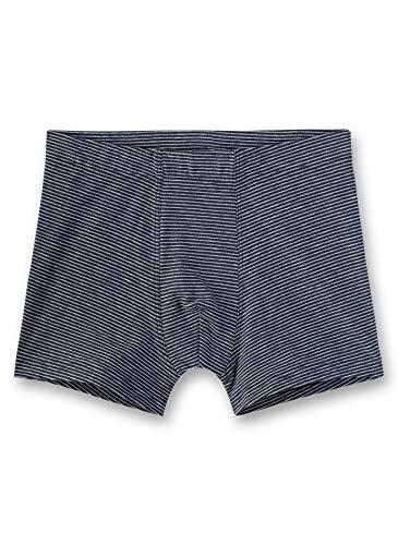 Sanetta Jungen Hipshorts Stripe Shorts, Blau (Slate Blue 5337), (Herstellergröße: 152)
