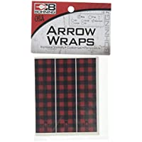 Archery Arrow Wraps 13pk Union Flag Arrow Wraps