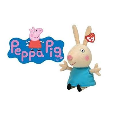 Ty peluche - Rebecca Rabbit 16.cm - Peppa Pig Serie por Ty