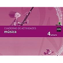 Cuaderno de música. 4 Primaria. Savia - 9788467578461