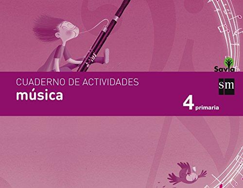 Cuaderno de música. 4 Primaria. Savia - 9788467578461 por Fátima Batista Ponce
