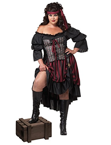 California Costumes Piratenkostüm Größe Damen XXL