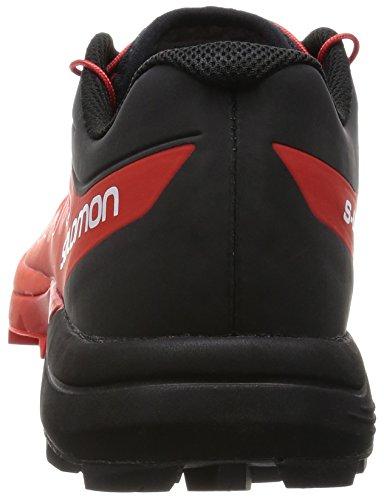 Salomon S-Lab Sense 5 Ultra Sg, Chaussures de Running Compétition Mixte Adulte Multicolore (Racing Red/Black/White)