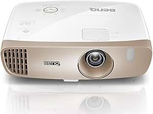 BenQ W2000 3D Heimkino DLP-Projektor (Full HD 1920×1080 Pixel, Cinematic Color REC. 709, 2.000 Ansi Lumen, Kontrast 15.000:1) weiß