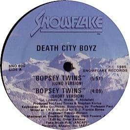 Death City Boyz Bopsey Twins