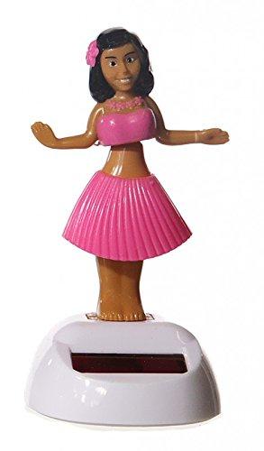Solar Wackelfigur Hula Girl in 3 versch. Farben, Farbe:pink (Solar Hula Girl)