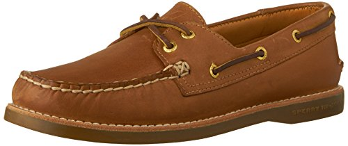 Sperry Top-Sider Women's Gold A/O Boat Core Shoe,Sahara Leather,US 11 M (Sperry Gold Cup)