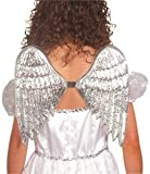 Angel Wings Silver Plastic Small Fancy Dress Wings for all Themes of Costumes & Outfits Accessory