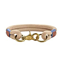 HUNTER Collar Sansibar Rantum Rope, 55 cm, Tan