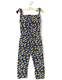 d1a964fc3df M andy Brown tie Knot Jumpsuit With Hair Band