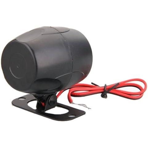 CARCHET® alarma bocina sirena para motocicleta coche auto vehículo bici DC 12V 120dB