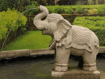 Superbe Large Elephant Fountain Statue From Geoffs Garden Ornaments