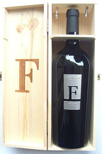 F Negroamaro 2014 Magnum in Holzkiste Feudi di San Marzano, trockener Apulischer Rotwein