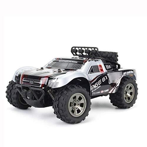SSBH High-Speed-Riese 16 km / h 4WD 2,4 GHz-Legierung Elektrische Big-Foot-Rock Crawler Monster Truck Funkfernbedienung Off-Road-RC Driften Klettern Auto RTR Cross-Country-Auto Buggy Geschenke for Pap