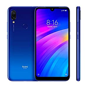 "Xiaomi Redmi 7 15,9 cm (6.26"") 2 GB 16 GB SIM doble 4G Azul 4000 mAh - Smartphone (15,9 cm (6.26""), 2 GB, 16 GB, 12 MP, Android 9.0, Azul)"