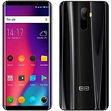 Smartphone Android 8.0 4 G elephone U Pro Pantalla Libre (Pantalla: 5,99 Pulgadas – 6 GB De RAM + 128 GB – Dual SIM) identificación de Cara, Metales y ...