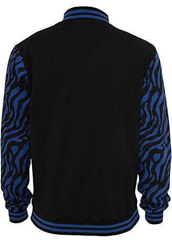 TB505 2-tone Zebra College Jacket Herren Jacke - 2