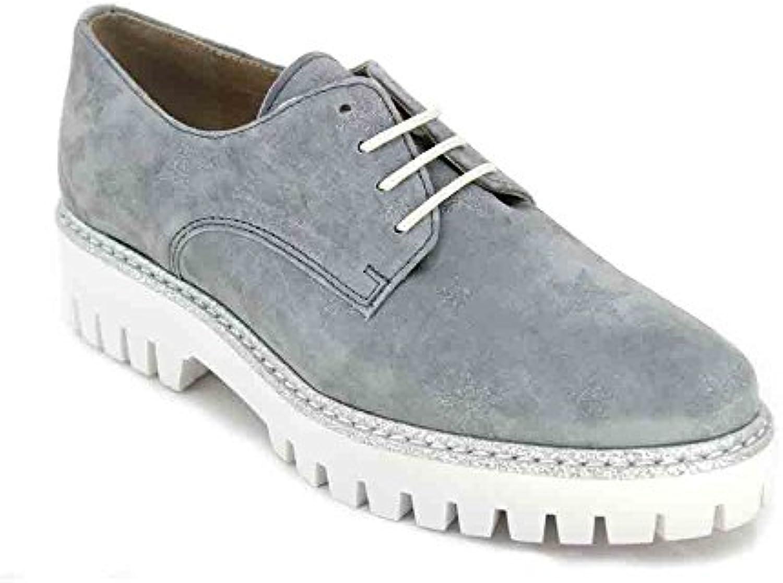 Alpe 3620 Zapatos Casual para Mujer - 37, Serraje Azul